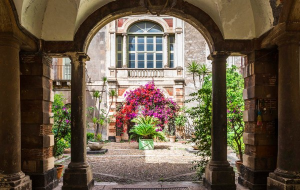 Cortile di Palazzo Biscari