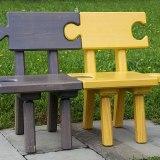 2つのベンチ