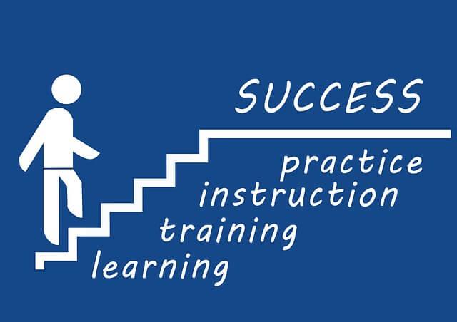 成功へのステップ