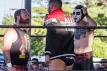 F1rst Wrestling Arik Cannon vs Danhaussen vs Ethan Page 081521 8221