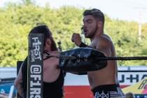 F1rst Wrestling Arik Cannon vs Danhaussen vs Ethan Page 081521 8248