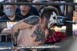 F1rst Wrestling Arik Cannon vs Danhaussen vs Ethan Page 081521 8253
