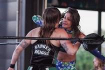 F1rst Wrestling Badger Briggs vs Kristy James 081521 8460