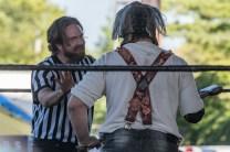 F1rst Wrestling Bill Williams vs Shane Black vs Carver of Cutters Alley 081521 8142