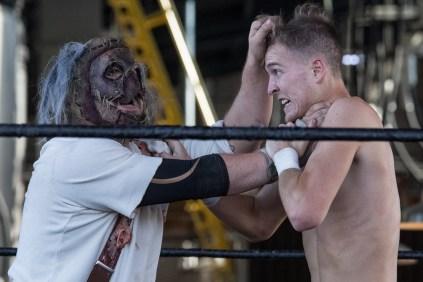 F1rst Wrestling Bill Williams vs Shane Black vs Carver of Cutters Alley 081521 8164