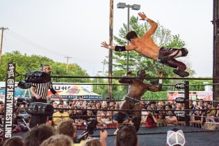 F1rst Wrestling Jah C vs Dante Martin 081521 8520