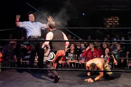 First Wrestling Wrestlepalooza Arik Cannon vs Ariya Daivari 01381