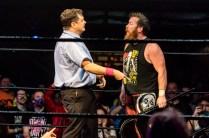 First Wrestling Wrestlepalooza Arik Cannon vs Ariya Daivari 01386