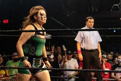 First Wrestling Wrestlepalooza Badger Briggs vs Free Range Kara 00869