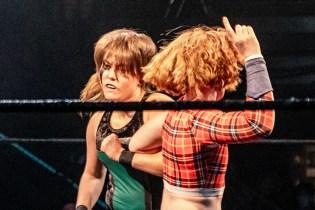 First Wrestling Wrestlepalooza Badger Briggs vs Free Range Kara 00875