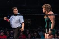 First Wrestling Wrestlepalooza Badger Briggs vs Free Range Kara 00912