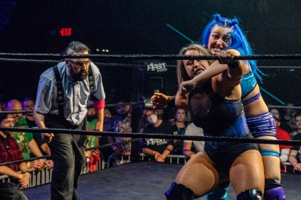 First Wrestling Wrestlepalooza Billie Starks vs Jordynne Grace 01101