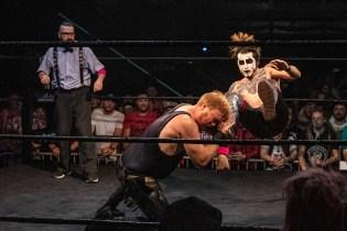 First Wrestling Wrestlepalooza Darin Corbin vs Danhaussen 00969
