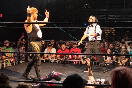 First Wrestling Wrestlepalooza Darin Corbin vs Danhaussen 00979