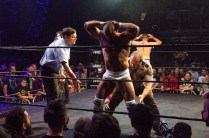 First Wrestling Wrestlepalooza Iron Rebel Renny D vs Brandon Gore vs Scott Story vs Rylie Jackson vs Deputy Rob Justice vs Atomic Super Thunderfrog 01191