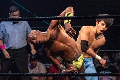 First Wrestling Wrestlepalooza Starboy Charlie vs Devon Monroe vs Dante Martin 00820