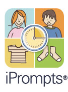Goodbye laminated pictures… Hello iPrompts®