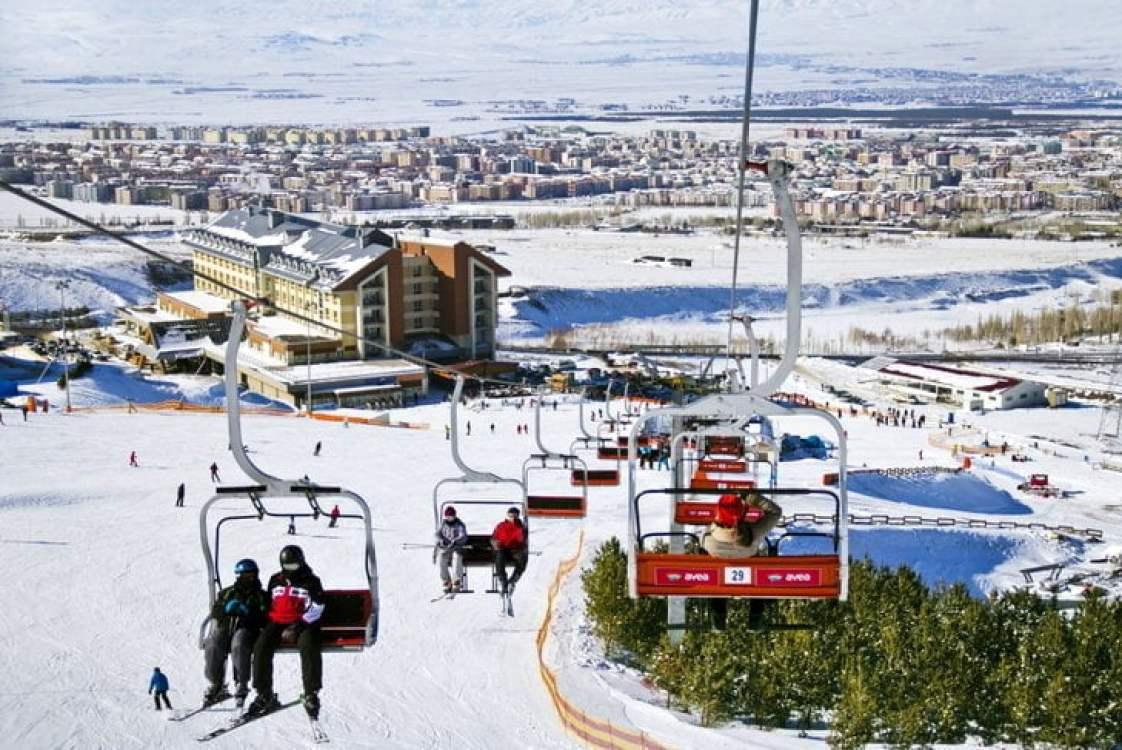 Palandöken Kayak Merkezi Erzurum
