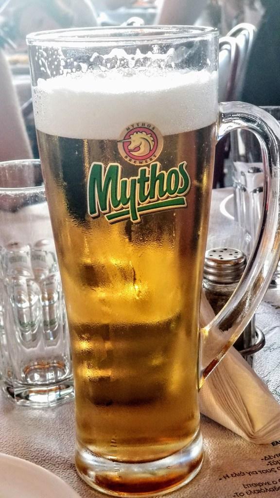 Yunan Birası Mythos