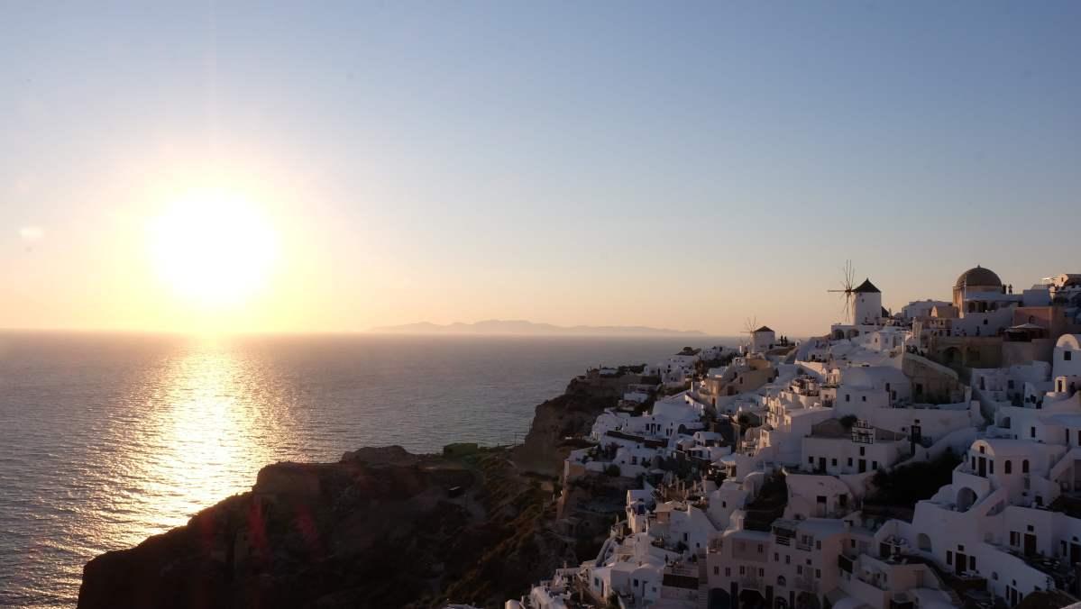 Santorini, Yunanistan