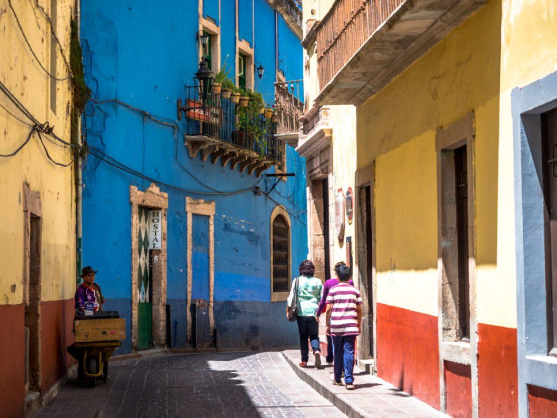 Najbardziej kolorowe miasto w Meksyku