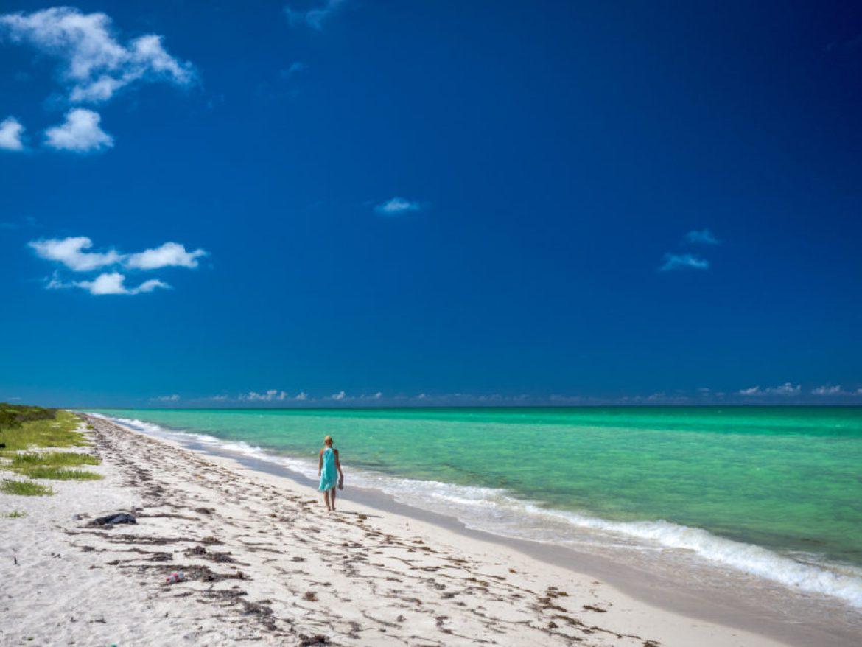 plaże na Półwysep Jukatan