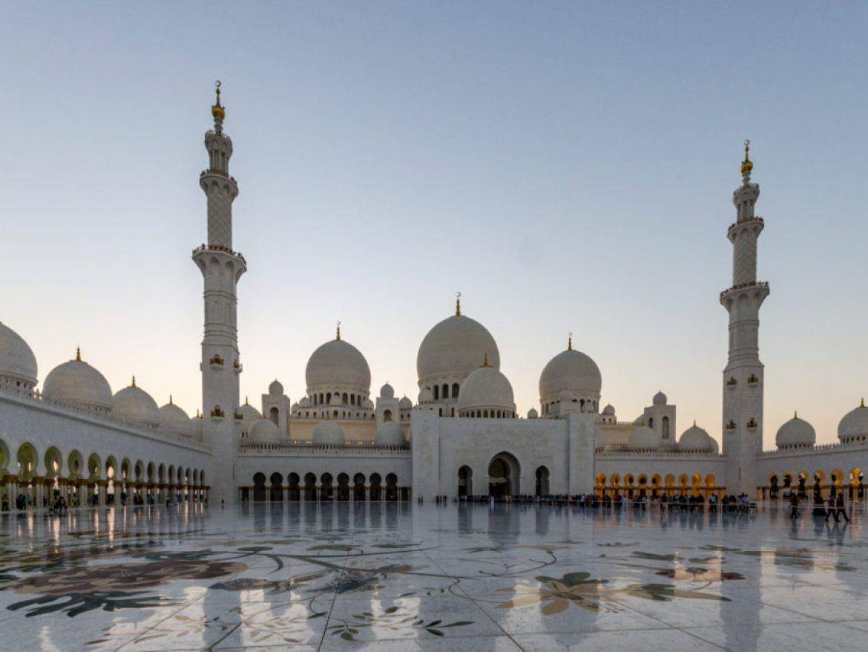 Abu Dhabi,Wielki Meczet Sheikh Zayed