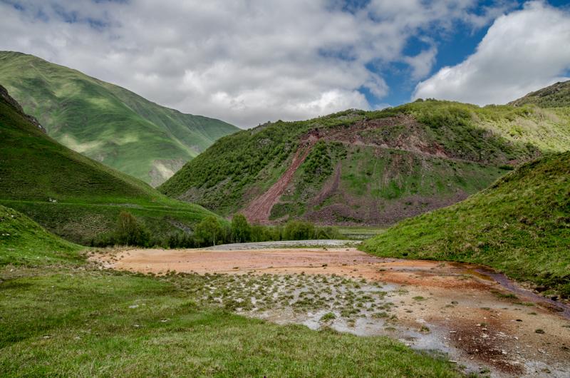 Dolina Truso, Gruzja