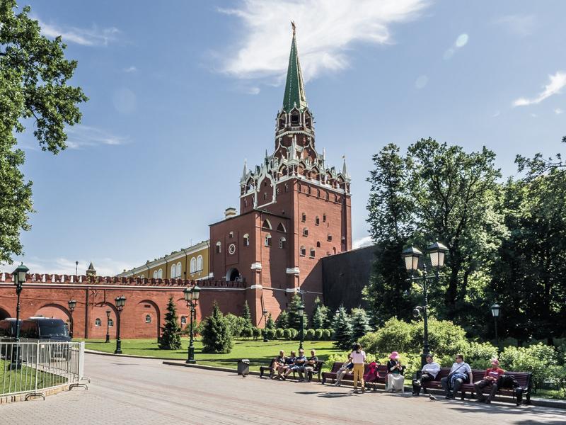 Zwiedzanie Moskwy