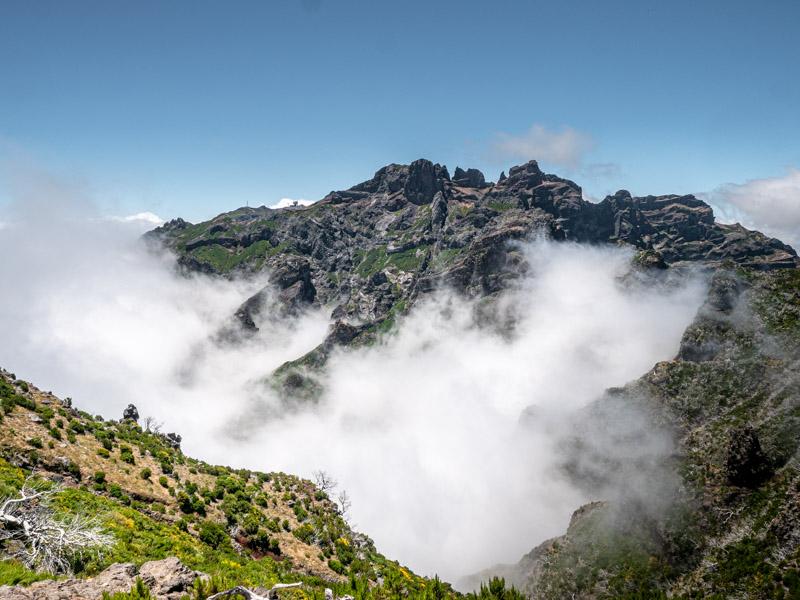 Pico Ruivo Madera