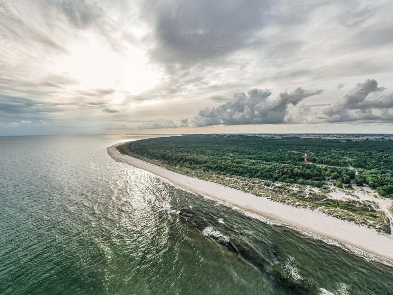 Plaże Szwecja
