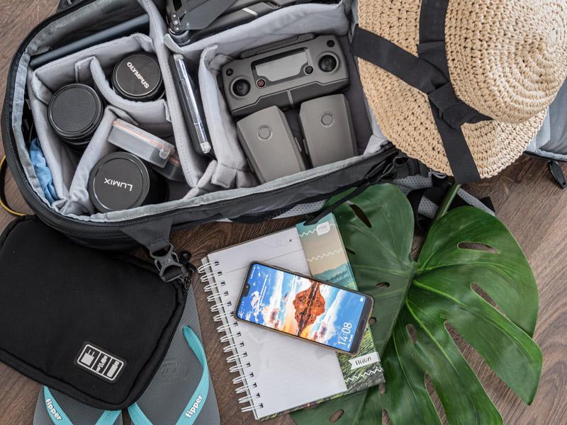 elektronika w bagażu podręcznym