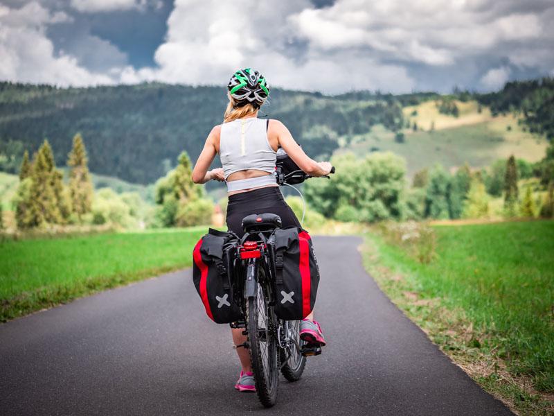 przygotowanie do wycieczki rowerowej