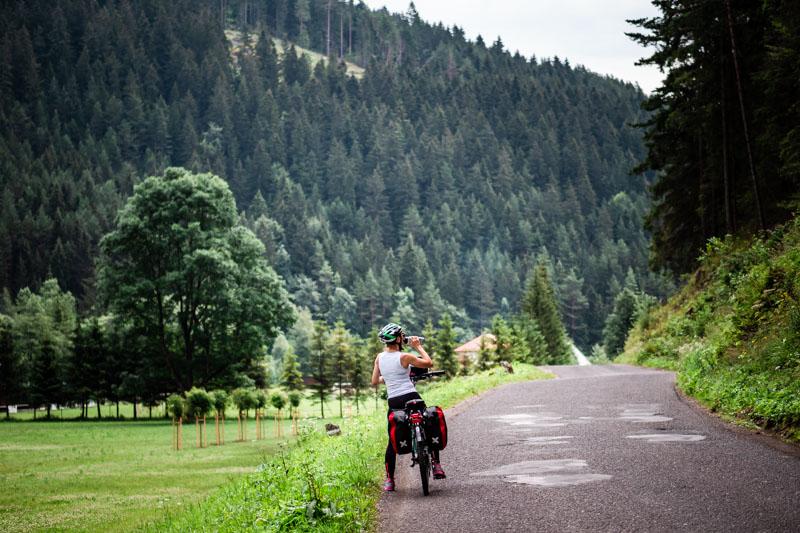 wycieczka rowerowa wokół Tatr