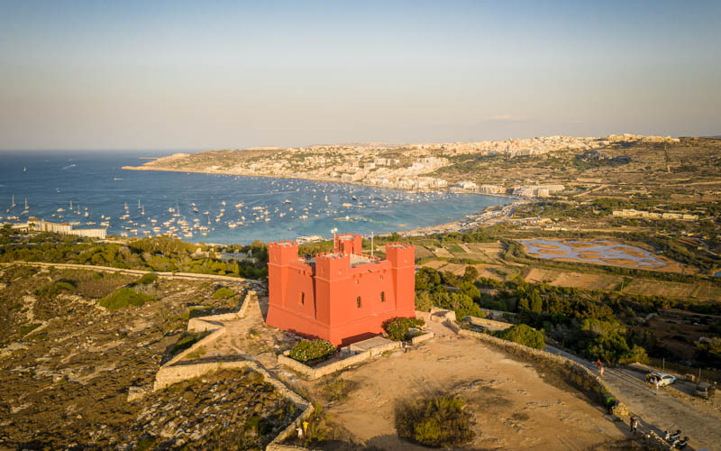 Czerwona Wieża, Malta
