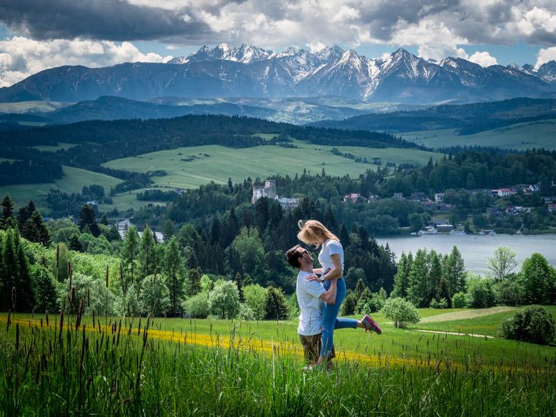 Punkty widokowe na Tatry, Czorsztyn