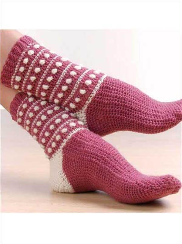 6 Free Crochet Socks Pattern  101 Crochet