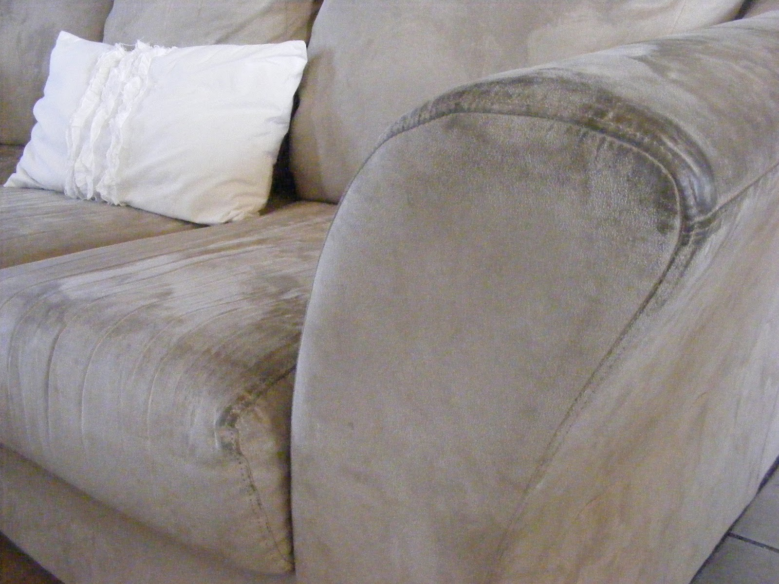 how to clean stains on fabric sofa rent microfiber furniture 101 days of organization