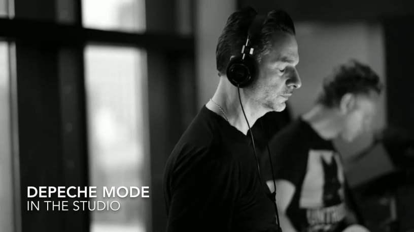 Dave Gahan i Martin Gore w studio