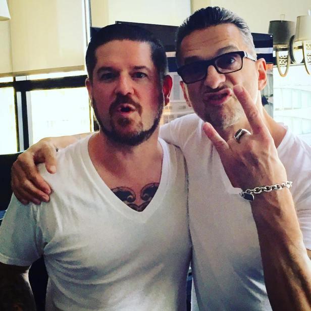 Dave Gahan & Graham Finn w Nowym Jorku (3 sesja, lipiec 2016)