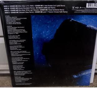 Cover Me - okładka vinyl - tył