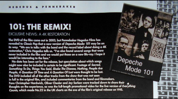depeche MODE Special Edition Classic Pop