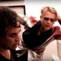 Peter Gordeno testuje pianino ?, a Andy Fumagalli śpiewa kawałki Depeche Mode ?