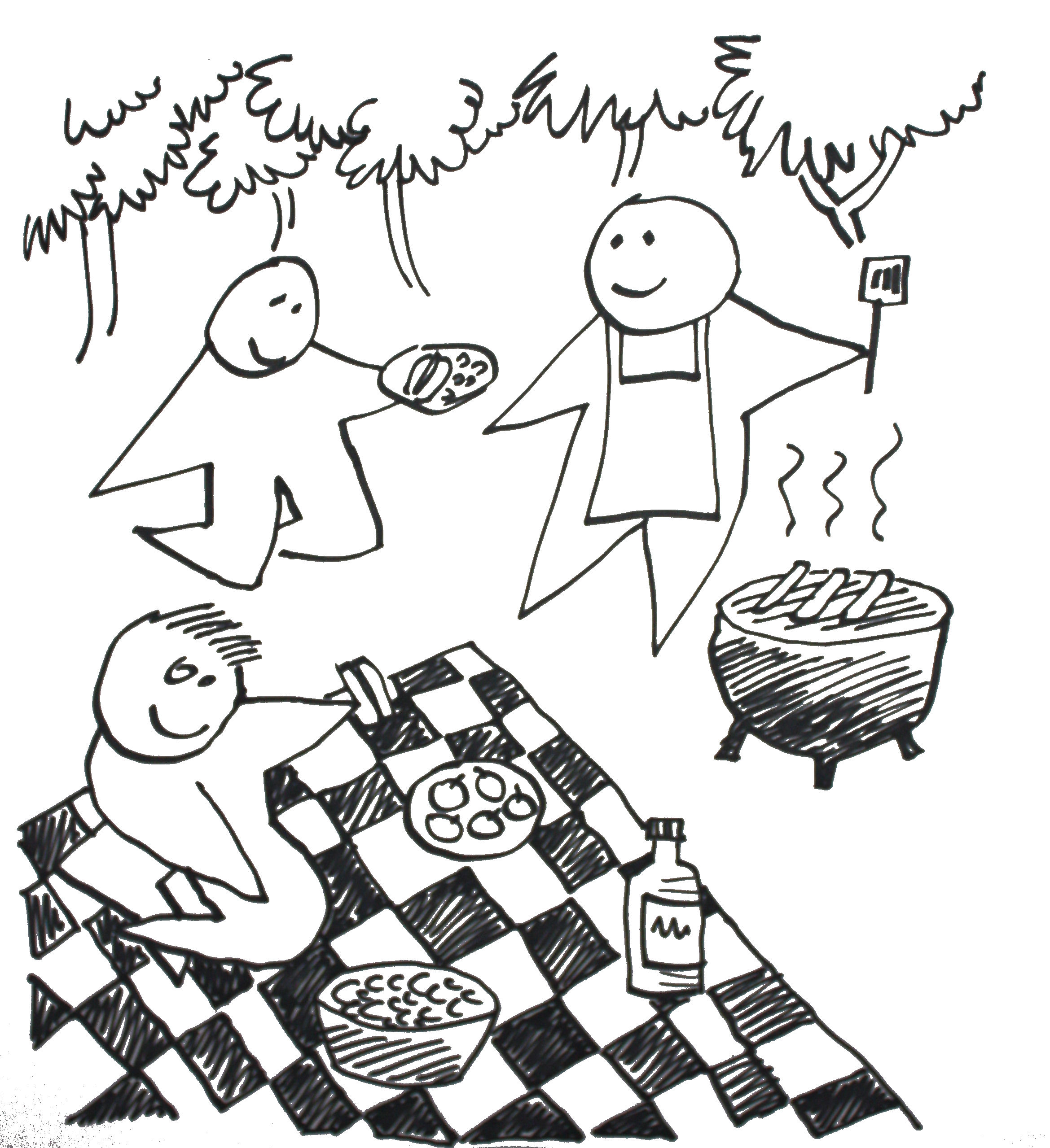 Have a Picnic with Friends!