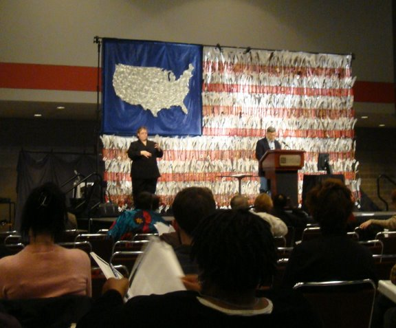 Robert Perske gave an emotional keynote address at the TASH 2008 conference in Nashville