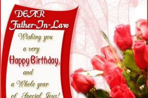 Birthday greetings special happy birthday wishes for father in law m4hsunfo