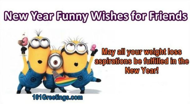 Best New Year Funny Wishes for Friends 2019
