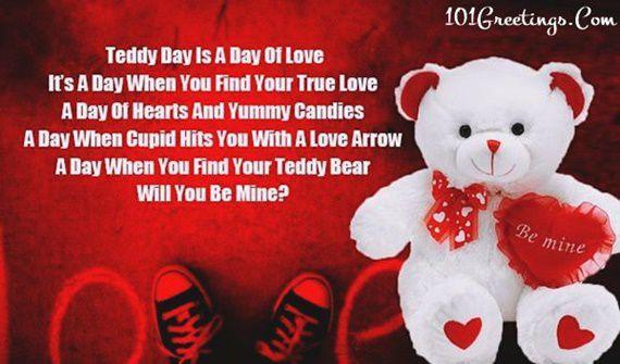 50 popular cute teddy day quotes wishes for boyfriend girlfriend
