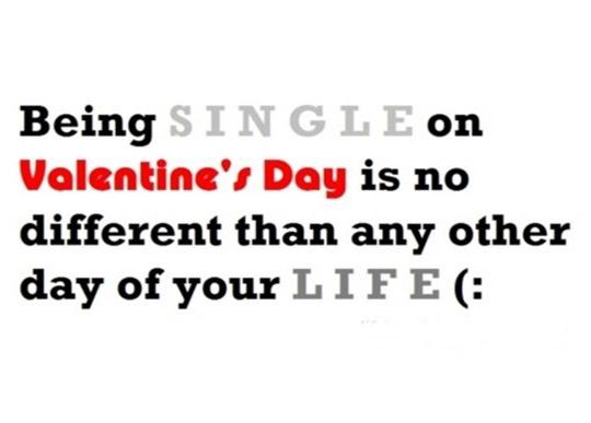 valentine quotes s on Single day