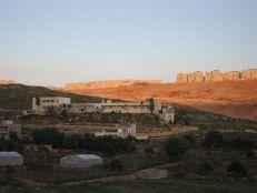 Beitar Illit settlement_encroaching_on_Wadi_Fukin_(730276521)